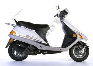 Unbekannt Motorrad Aufnahmeplatte Buchse passend zu Honda Bali 50 grau