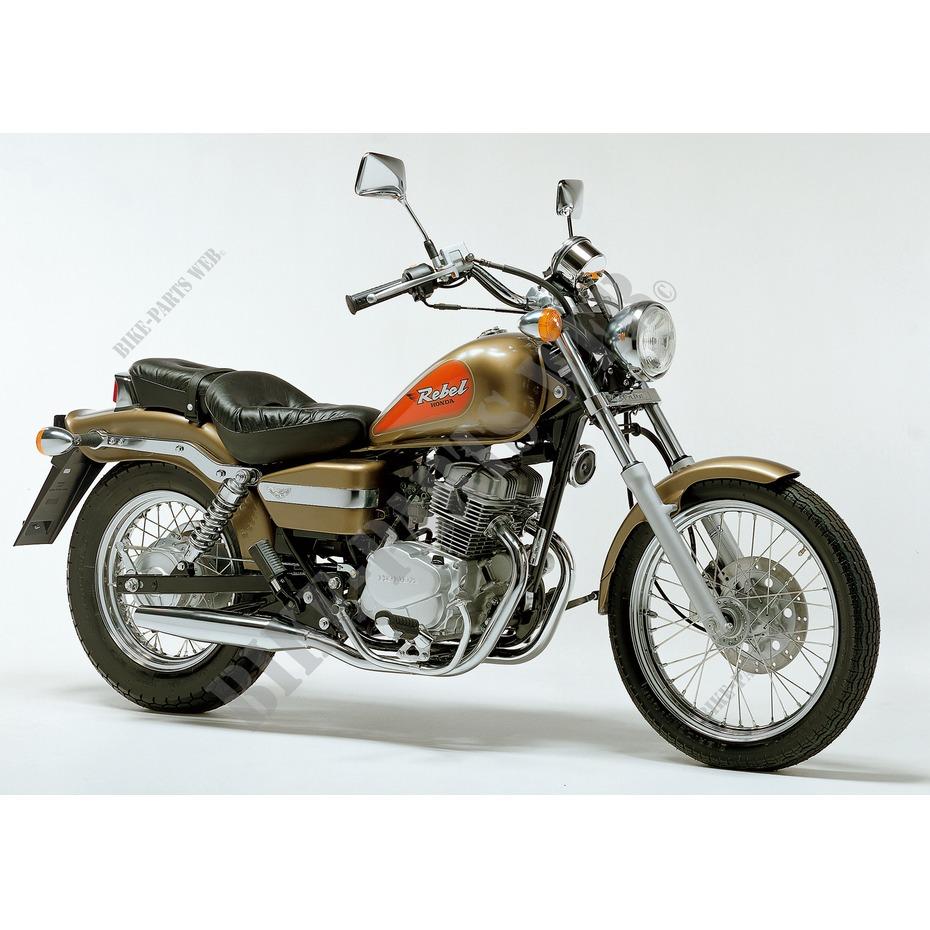 ca125x jc26a honda motorrad rebel 125 125 1999 osterreich. Black Bedroom Furniture Sets. Home Design Ideas