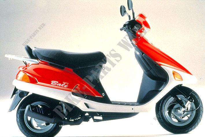 sj50s af323 honda motorrad bali 50 50 1995 deutschland. Black Bedroom Furniture Sets. Home Design Ideas