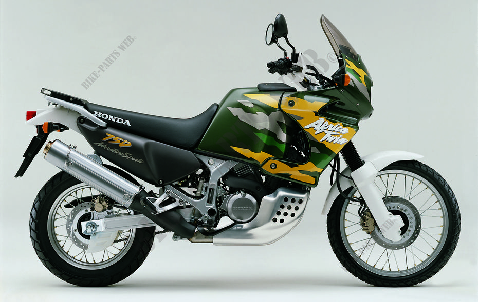XRV750W RD07A HONDA Motorrad AFRICA TWIN 750 750 1998 ...