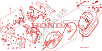 HECKLEUCHTE(2) Chassis 1500 honda-motorrad GOLD-WING 2000 F__2801
