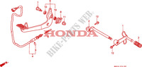 PEDAL Chassis 1500 honda-motorrad GOLD-WING 2000 F__2100