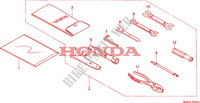 WERKZEUGE(2) Chassis 1500 honda-motorrad GOLD-WING 2000 F__3501