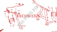 STAENDER für Honda BIG ONE 1000 1996