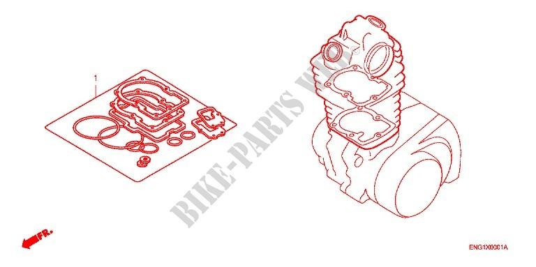 Tourmax Brake Reservoir Diaphragm Seal Set RVD-101 Honda CB500 1994-95